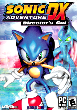 Cover for Sonic Adventure DX: Director's Cut.