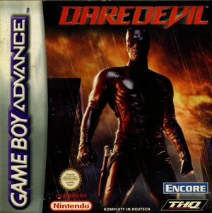 Cover for Daredevil.