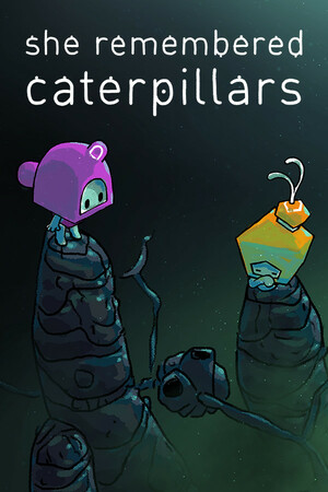 Cover for She Remembered Caterpillars.
