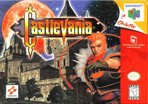 Cover for Castlevania.