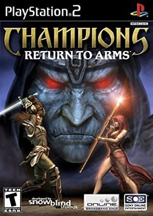 Cover for Champions: Return to Arms.