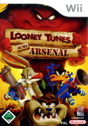 Cover for Looney Tunes: Acme Arsenal.