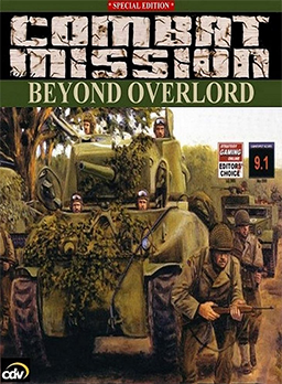 Cover for Combat Mission: Beyond Overlord.