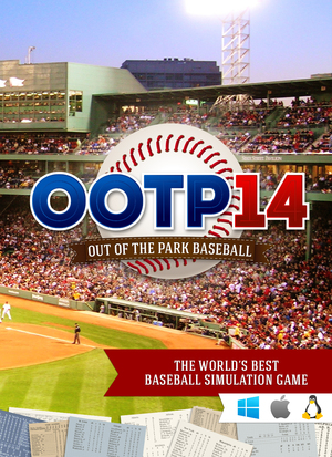 Cover for Out of the Park Baseball 14.