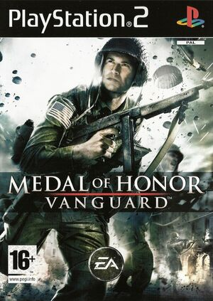 Cover for Medal of Honor: Vanguard.