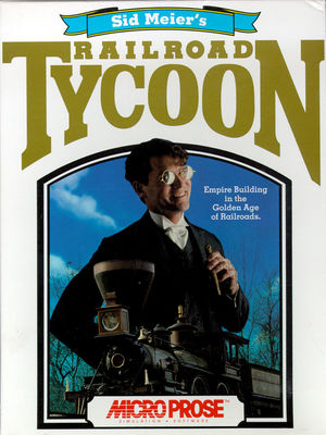 Cover for Railroad Tycoon.