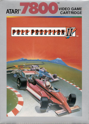 Cover for Pole Position II.