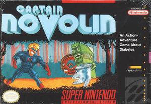 Cover for Captain Novolin.
