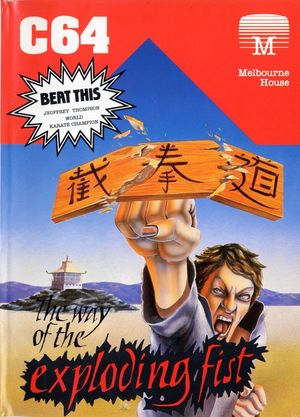 Cover for The Way of the Exploding Fist.