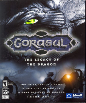 Cover for Gorasul: Legacy of the Dragon.