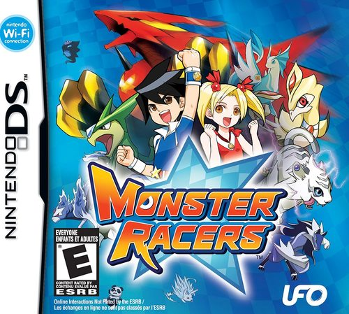 Cover for Monster Racers.