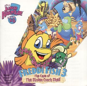 Cover for Freddi Fish 3: The Case of the Stolen Conch Shell.