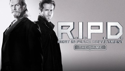 Cover for R.I.P.D. The Game.