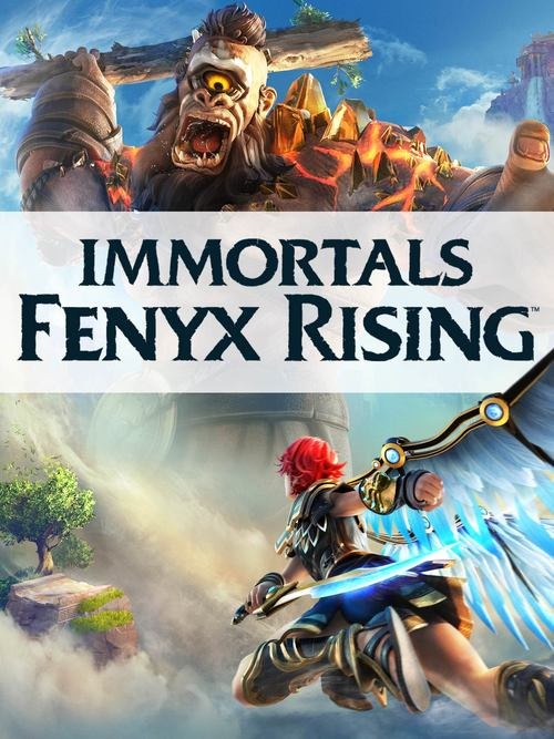 Cover for Immortals Fenyx Rising.