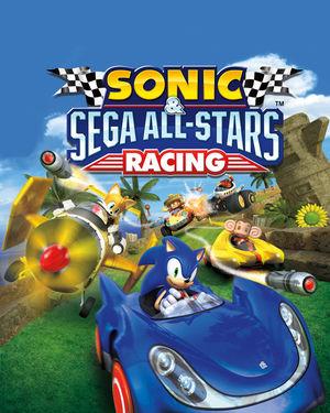 Cover for Sonic & Sega All-Stars Racing.