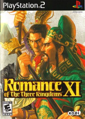 Cover for Romance of the Three Kingdoms XI.