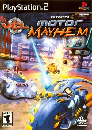 Cover for Motor Mayhem.