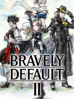 Cover for Bravely Default II.