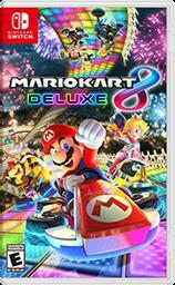 Cover for Mario Kart 8 Deluxe.