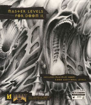 Cover for Master Levels for Doom II.