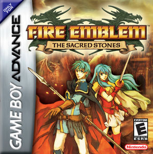 Cover for Fire Emblem: The Sacred Stones.