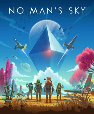 Cover for No Man's Sky.