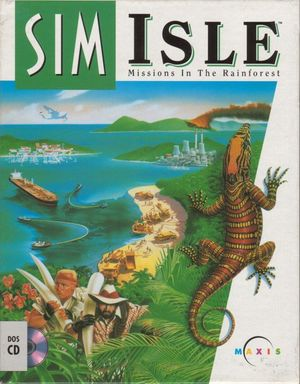 Cover for SimIsle: Missions in the Rainforest.