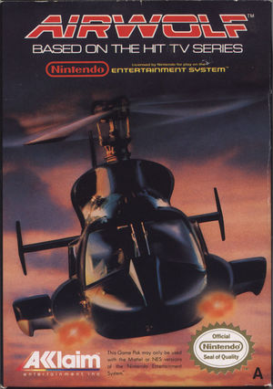 Cover for Airwolf.