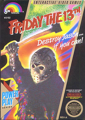 Cover for Friday the 13th.