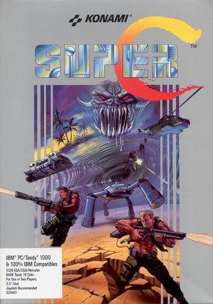 Cover for Super Contra.