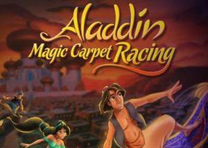 Cover for Aladdin's Magic Carpet Racing.