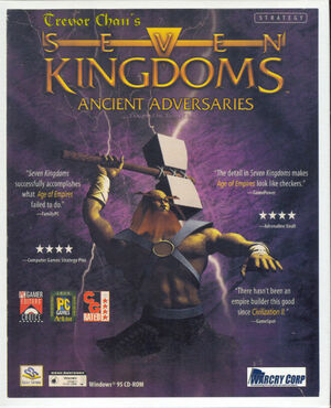 Cover for Seven Kingdoms: Ancient Adversaries.