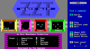 Cover for ZZT.