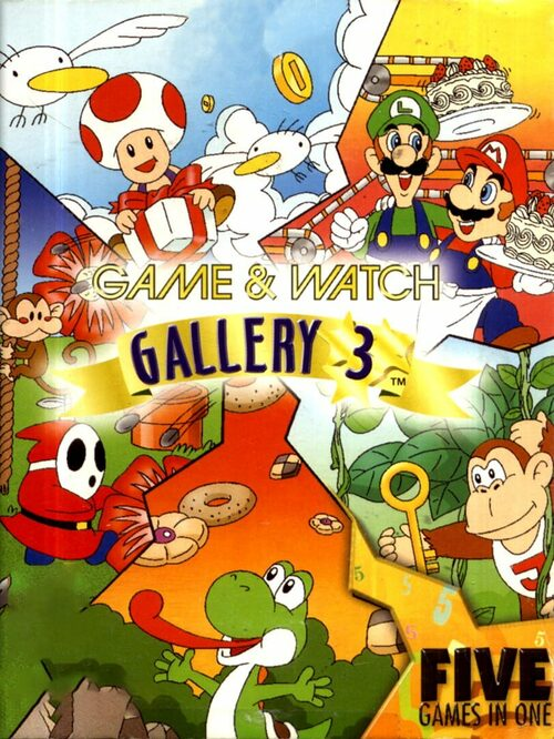 Cover for Game and Watch Gallery 3.