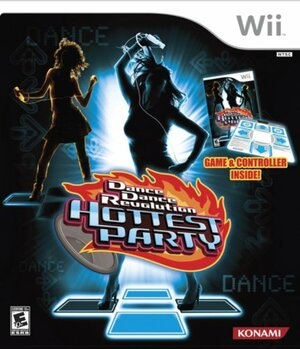 Cover for Dance Dance Revolution Hottest Party.