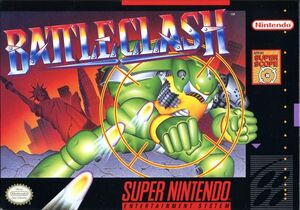Cover for Battle Clash.
