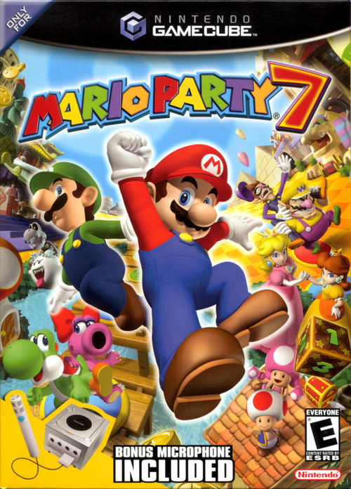 Cover for Mario Party 7.