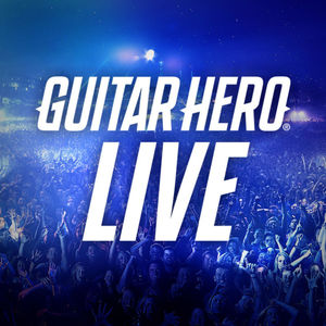Cover for Guitar Hero Live.