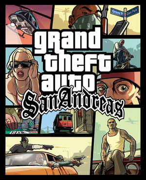 Cover for Grand Theft Auto: San Andreas.