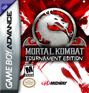 Cover for Mortal Kombat: Tournament Edition.