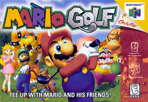 Cover for Mario Golf.