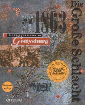 Cover for Battleground 2: Gettysburg.