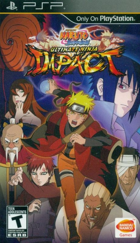 Cover for Naruto Shippūden: Ultimate Ninja Impact.