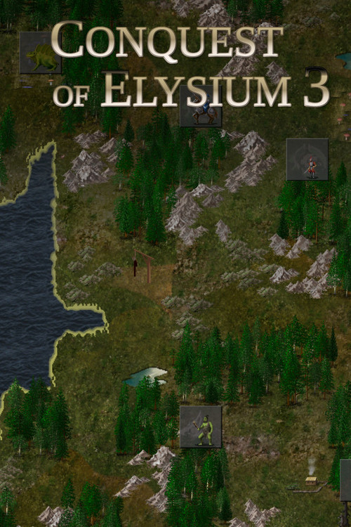 Cover for Conquest of Elysium 3.