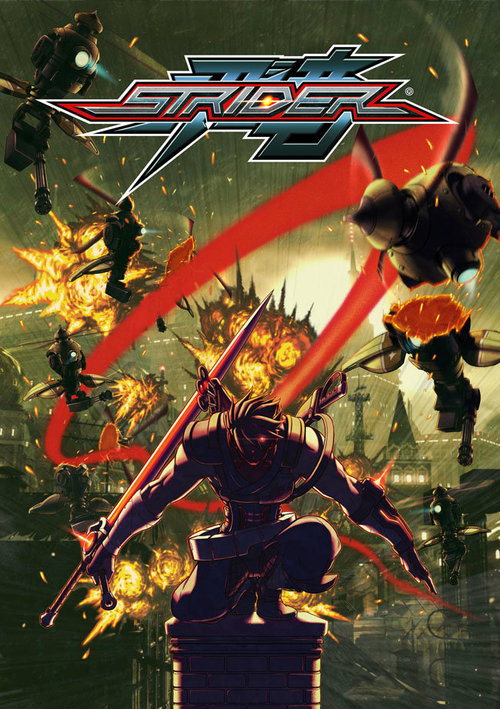 Cover for Strider.