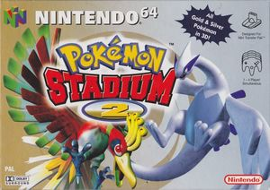 Cover for Pokémon Stadium 2.