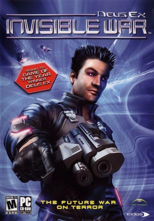Cover for Deus Ex: Invisible War.