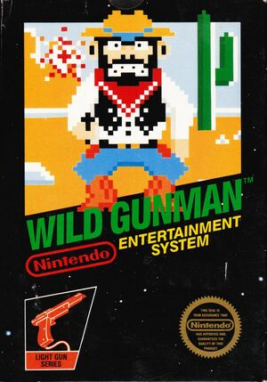 Cover for Wild Gunman.