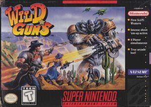 Cover for Wild Guns.