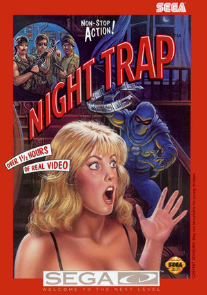 Cover for Night Trap.